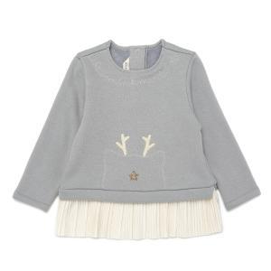 사슴자수롱티셔츠
