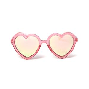 하트 미러 선글라스